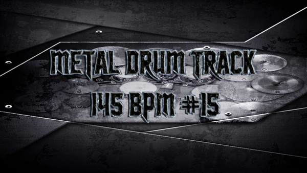 Metal Drum Track 145 BPM #15 - Preset 2.0