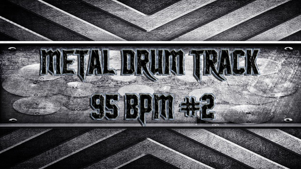 Metal Drum Track 95 BPM #2