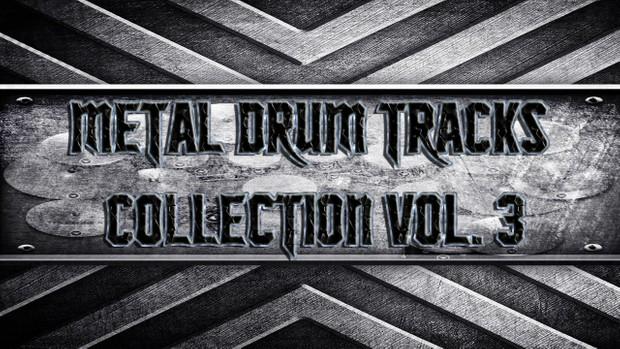 Metal Drum Tracks Collection Vol. 3