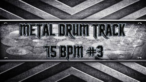 Metal Drum Track 75 BPM #3