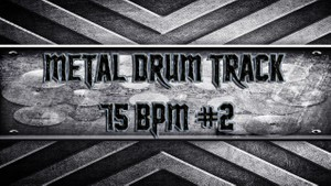 Metal Drum Track 75 BPM #2
