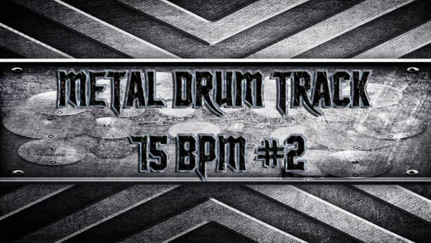 Metal Drum Track 75 BPM #2