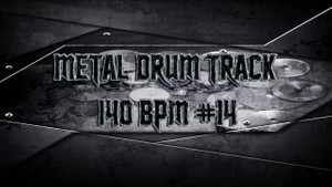 Metal Drum Track 140 BPM #14 - Preset 2.0