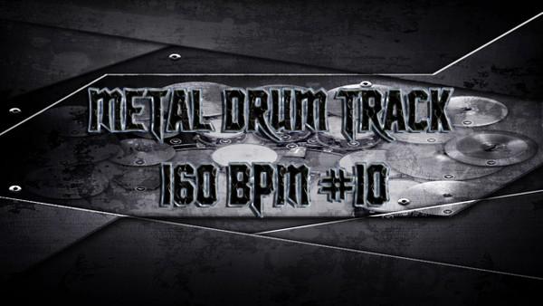 Metal Drum Track 160 BPM #10 - Preset 2.0