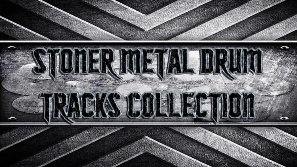 Stoner Metal Drum Tracks Collection