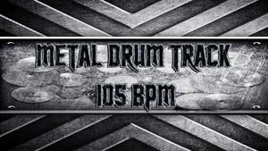 Metal Drum Track 105 BPM