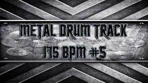 Metal Drum Track 175 BPM #5