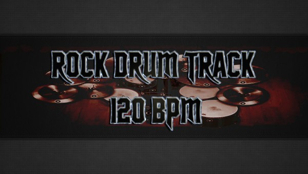 Rock Drum Track 120 BPM