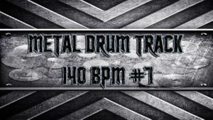 Metal Drum Track 140 BPM #7