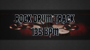 Rock Drum Track 135 BPM