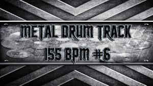 Metal Drum Track 155 BPM #6