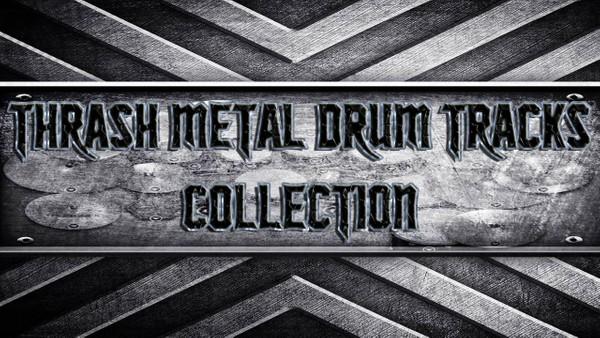 Thrash Metal Drum Tracks Collection