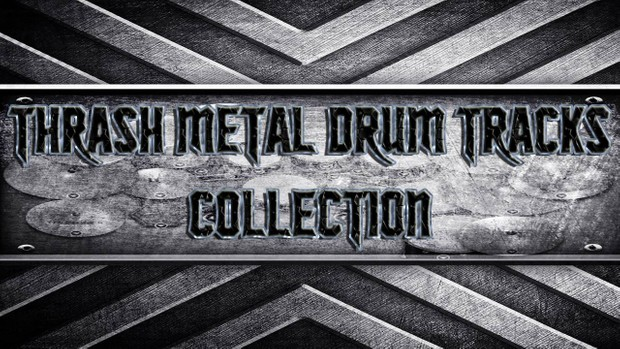 Thrash Metal Drum Tracks Collection