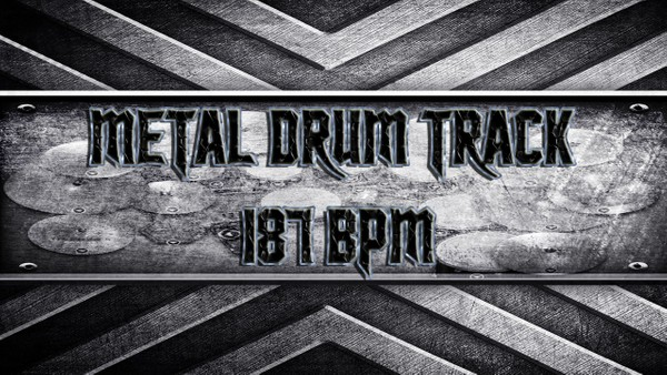 Metal Drum Track 187 BPM