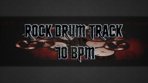Rock Drum Track 70 BPM