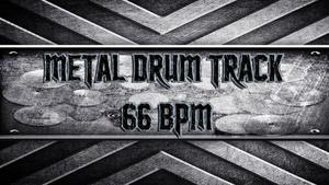 Metal Drum Track 66 BPM