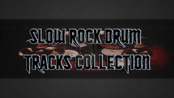 Slow Rock Drum Tracks Collection
