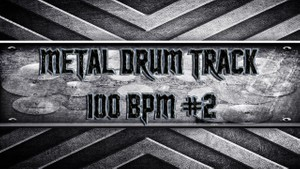 Metal Drum Track 100 BPM #2