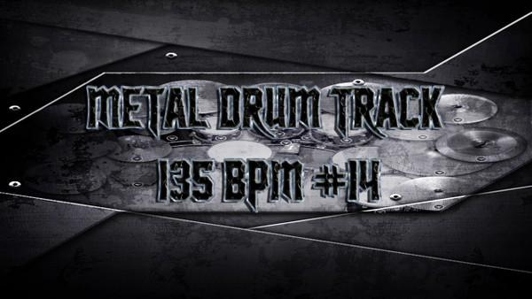 Metal Drum Track 135 BPM #14 - Preset 2.0