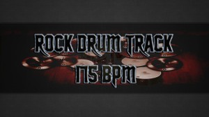 Rock Drum Track 175 BPM