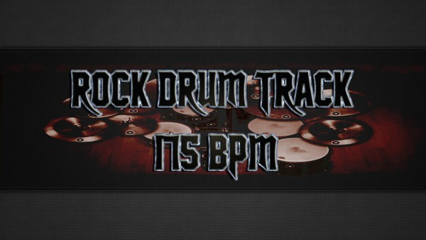 Rock Drum Track 175 BPM