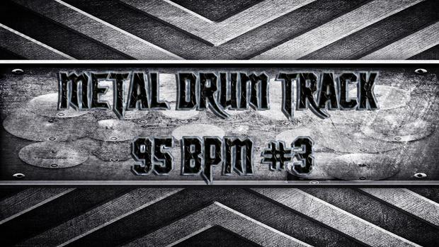 Metal Drum Track 95 BPM #3