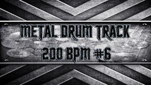 Metal Drum Track 200 BPM #6