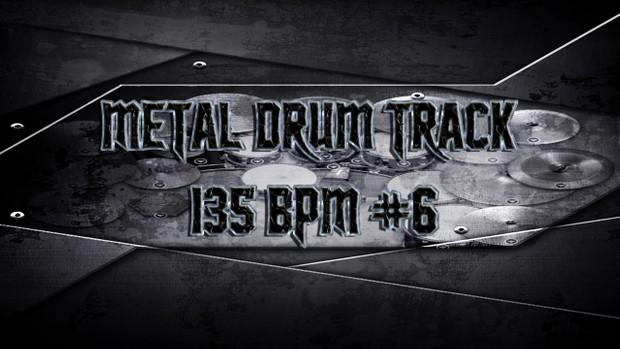 Metal Drum Track 135 BPM #6 - Preset 2.0