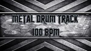 Metal Drum Track 100 BPM