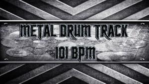Metal Drum Track 101 BPM