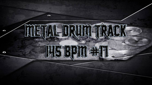 Metal Drum Track 145 BPM #17 - Preset 2.0