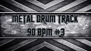 Metal Drum Track 90 BPM #3