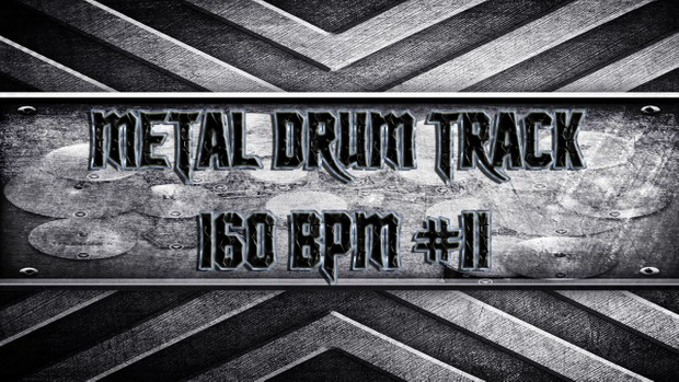 Metal Drum Track 160 BPM #11