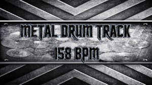 Metal Drum Track 158 BPM