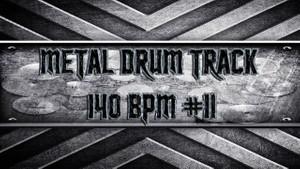 Metal Drum Track 140 BPM #11