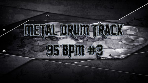 Metal Drum Track 95 BPM #3 - Preset 2.0