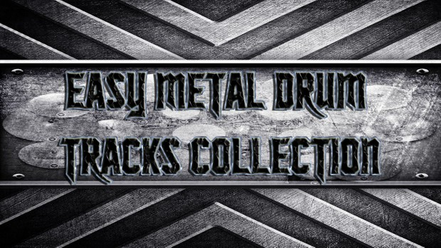 Easy Metal Drum Tracks Collection