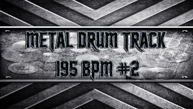 Metal Drum Track 195 BPM #2