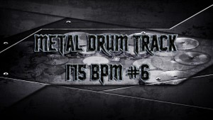Metal Drum Track 175 BPM #6