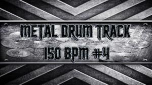 Metal Drum Track 150 BPM #4