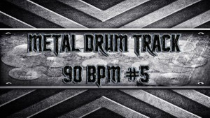 Metal Drum Track 90 BPM #5