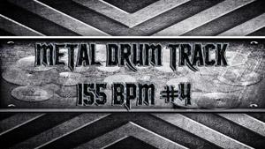 Metal Drum Track 155 BPM #4
