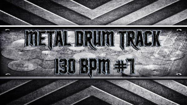 Metal Drum Track 130 BPM #7