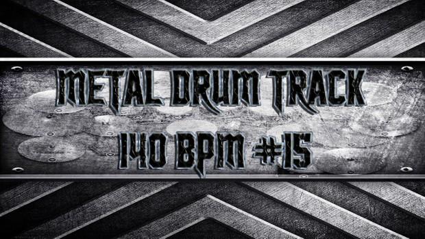 Metal Drum Track 140 BPM #15