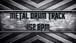 Metal Drum Track 152 BPM
