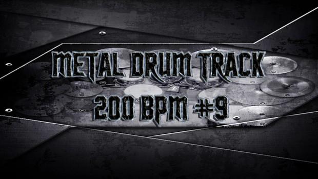 Metal Drum Track 200 BPM #9 - Preset 2.0