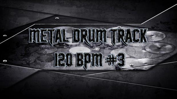 Metal Drum Track 120 BPM #3 - Preset 2.0 - Exclusive