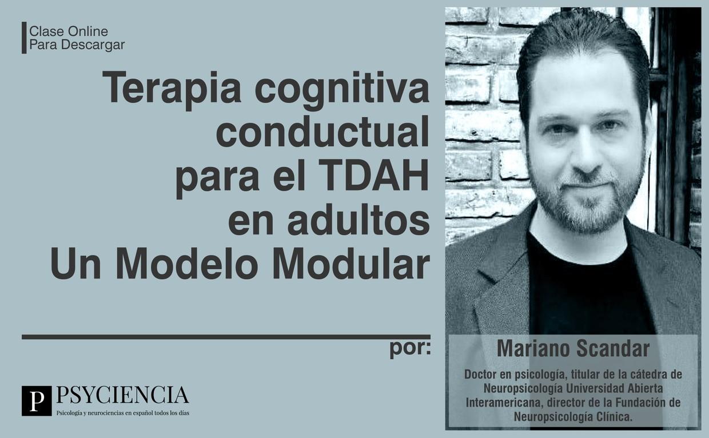 Terapia cognitiva conductual para el TDAH en adultos