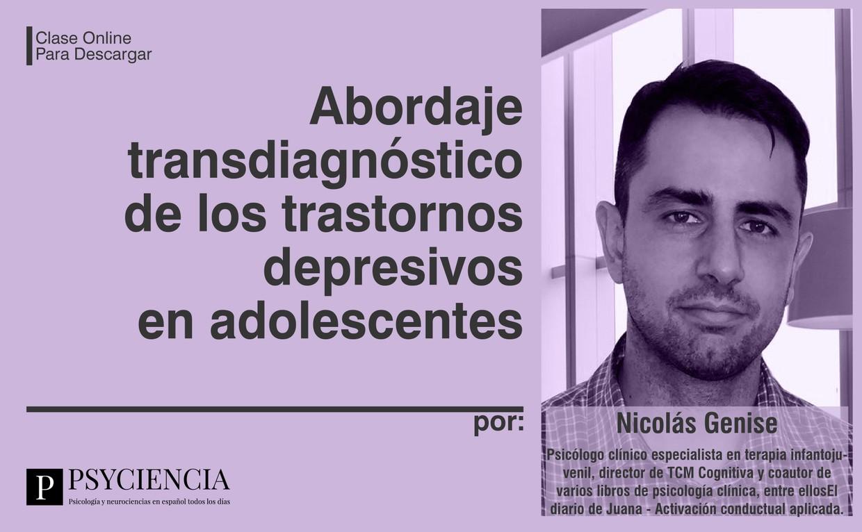 Clase online: Abordaje transdiagnóstico de la depresión en adolescentes