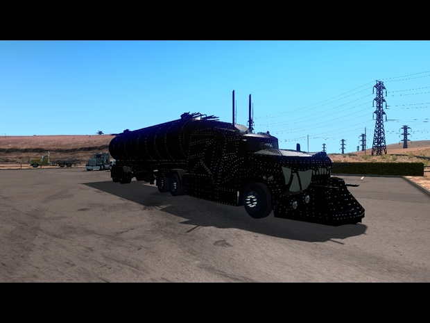 Angry Arthor truck and trailer for ATS